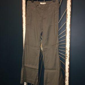 Level 99 linen pants, low-rise, size 28